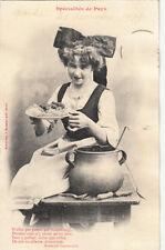 SCENES ET TYPES D'ALSACE spécialité culinaire la choucroute poème de Gaboriaud