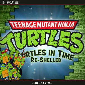 TMNT Turtles in Time Re-Shelled - PS3 - (Digital Copy)