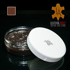 Amaretto Brown Leather Colour Restorer Balm MERCEDES BENZ Cars Seats Repair