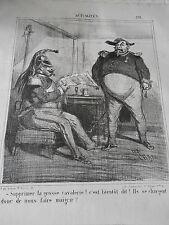 Caricature 1866 Supprimer La Grosse Cavalerie ! nous faire maigrir !