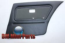 BMW E30 Touring Rear Right Cloth Door Card Anthracite 51428106672