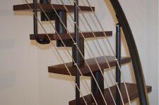 Space Saving Modular Loft Staircase, Tobacco Alder DIXI