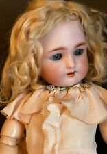Antique Handwerck Daisy German Bisque Doll 18 In Antique Daisy Doll Original Wig