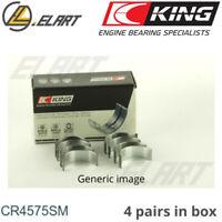 King Big End Con Rod Bearings CR4575SM STD For HYUNDAI 1.6 G4FC