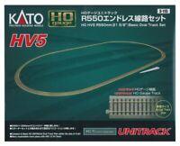 Kato USA Model Train Products HV5 UNITRACK R550mm Basic Oval Track Set 21 5/8