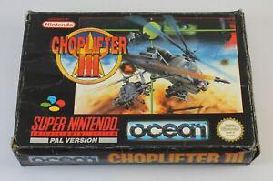 Choplifter III (SNES)