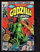 Godzilla #1 ~ King of Monsters/ 1st Issue/ Marvel ~ 1977 (6.0) WH