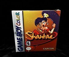 Shantae (Game Boy Color, 2002) H-SEAM SEALED Factory Sealed New