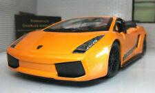 Véhicules miniatures jaunes en plastique pour Lamborghini