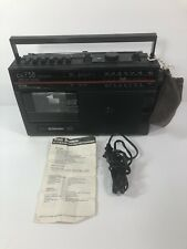 Vintage International CX-738 3 Band Radio Receiver/Recorder AM/FM Portable Radio