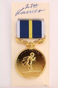 ROYAL HUMANE SOCIETY HUNDRED OF SALFORD GOLD MEDAL LATEAT 1867 LIFE SAVING
