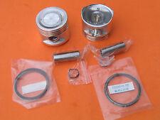 2 x Pistons 53mm x 47mm Rings Kit for Honda Rebel CA 250 CMX 250 13101-KR3-013