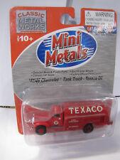 Classic Metal Works - Mini Metals 41/46 Chevrolet Tank Truck - Texaco Oil - 1:87