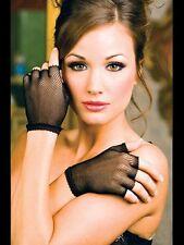 Noir Résille Danseur Style Mitaines Poignet Gants Sexy Lingerie P401