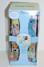 Precious Moments Baby Crib Mobile w/ Lamb Giraffe Bluebird Bear in BOX