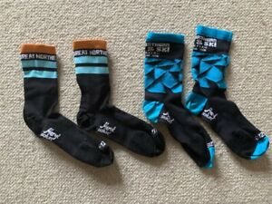 2 Pair of Specialized socks cycling Large