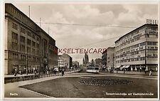 Ab 1945 Ansichtskarten aus Berlin mit dem Thema Straßenbahn