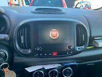 MASCHERINA KIT AUTORADIO NAVIGATORE MONITOR 2 DIN FIAT 500L PERFECT FIT DAL 2019