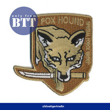 Metal Gear Solid Fox Hound /Foxhound Special Force Group Embroidered Patch
