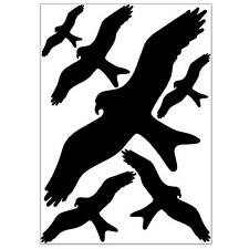 Vogel Aufkleber für Fenster, gegen Vogelschlag, Vogelschutz & Fensterschutz Set