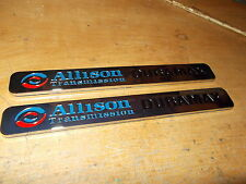 2006 - 2013 CHEVROLET SILVERADO GMC 2500HD 3500HD ALLISON DURAMAX EMBLEMS PAIR