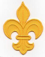 Toppe Toppa PATCH rei de francia fleur de lys  ricamata termoadesivo