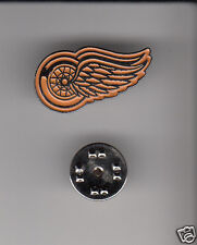 DETROIT RED WINGS NHL Hockey Team Logo METAL HAT LAPEL PIN New Sealed Mint