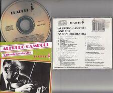 Aldredo Campoli and His Salon Orchestra- The Best of/Vintage Violin Recording CD
