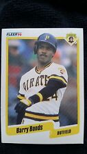 Barry Bonds 1990 Fleer #461 Pittsburgh Pirates