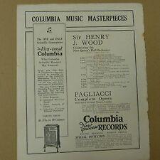 vintage advertise THE VIVA-TONAL COLUMBIA Gramophone , 1930s