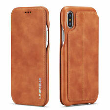 For iPhone X 8 7 6s Plus 10 Luxury Leather Flip Magnetic Wallet Stand Case Cover