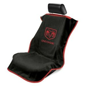 1- Seat Armour Seat Protector Cover/Towel w/ Dodge Ram Logo