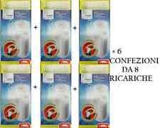 6 X DOSAPHOS RAPID RICARICHE GEL 8 PEZZI pronte all'uso GELPHOS - polifosfati
