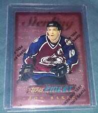 1996 NHL Topps Finest Sterling Joe Sakic Card #15 Colorado Avalanche
