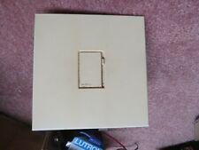 LUTRON Vario NOVA 1500 WATT White slide dimmer w/ touch switch& lock out feature