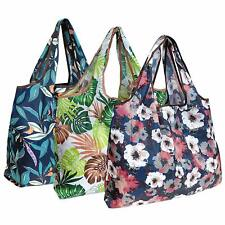 Wrapables Eco-Friendly Large Nylon Reusable Shopping Bags (Set of 3)