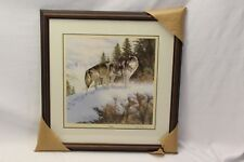Mark Newman Timber Wolves Signed 548/9500 Majestic Wilderness Art