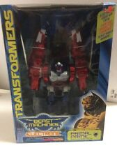Transformers Beast Machines PRIMAL PRIME Electronic Optimus 2000 MISB Sealed