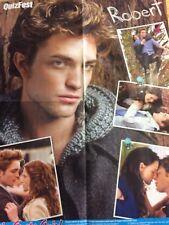 Robert Pattinson, Selena Gomez, Double Four Page Foldout Poster