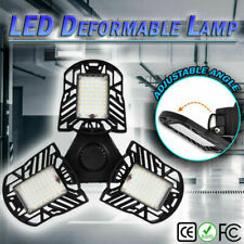 6000LM LED Emergency Garage Lamp 85-265V 60W LED Deformable Fan Ceiling light