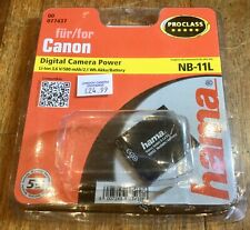 Hama (For Canon) NB-11L Rechargable Replacement Li-Ion Digital Camera Battery
