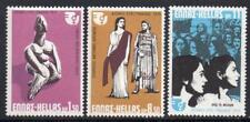 Grecia Gomma integra, non linguellato 1975 SG1308-10, ANNO INTERNAZIONALE da donna