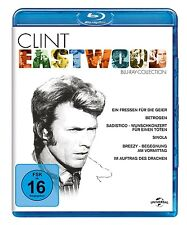 CLINT EASTWOOD COLLECTION 6 BLU-RAY NEU