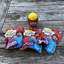 Ryan's World's Mystery Jellies Figures Blind Bag Lot (3) & 1 Mystery Egg