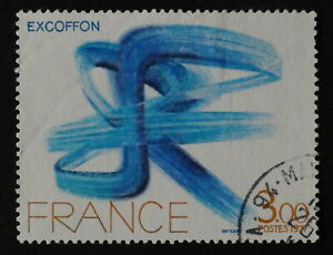 Timbre poste. France. n°1951. Oeuvres d'art. Excoffon;