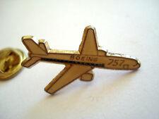 PINS RARE AVION DE LIGNE BOEING 757 BIREACTEUR AVIATION AIRCRAFT PLANE