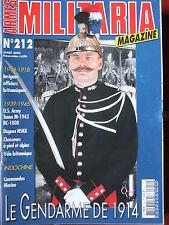Militaria Magazine n°212 (mars 2003) Le gendarme de 1914 - Vélo britannique