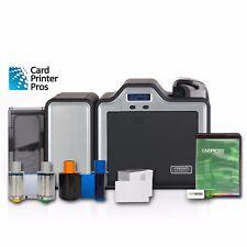 Fargo Hdp5000 Dual-Side Printer w/ Mag Encoder, & Supplies (100 day warranty)