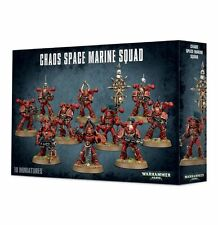 Warhammer 40,000-40K Chaos Space Marine Squad Sealed NIB