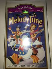 Walt Disney Masterpiece Collection 50th Anniversary Melody Time Vhs!
